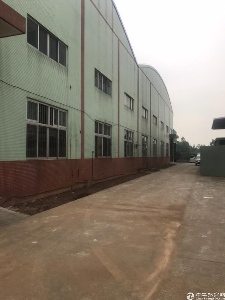 广州南沙大岗带20吨行车证件齐全厂房6500平方招租
