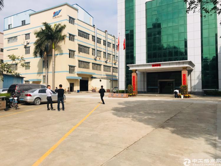 观澜大型工业园新出独门独院标准厂房200-10000大小可分