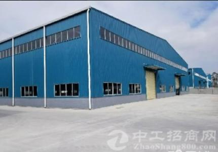 洪梅新出原房东单一层独院钢构厂房1800平方