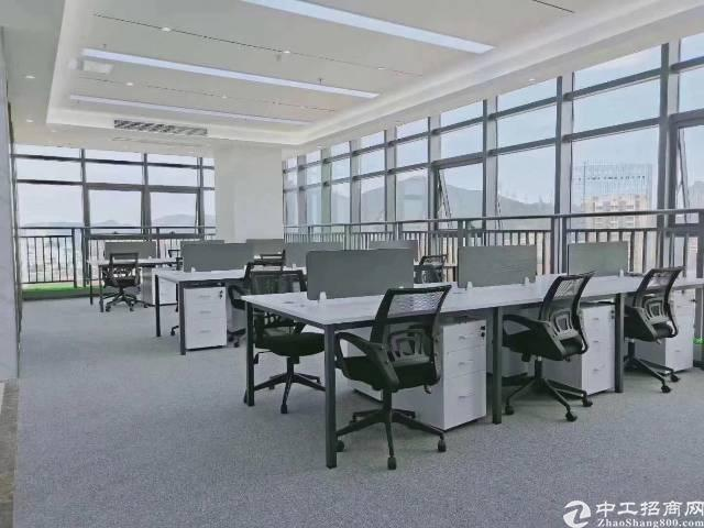 西乡鹤州桃源居精装带家私甲级写字楼