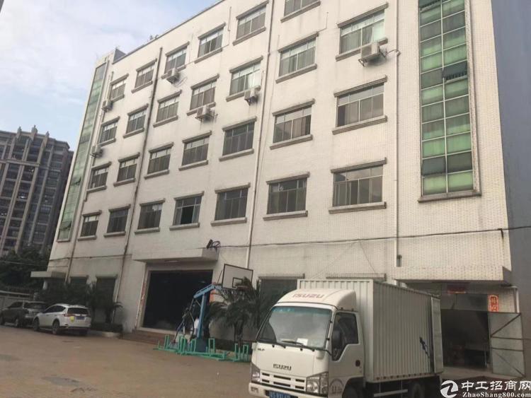 深圳红本厂房,形象好,7米层高