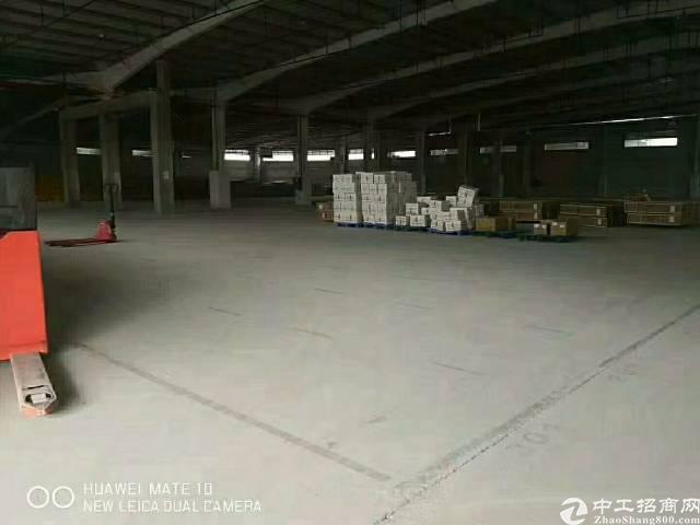 惠州惠阳新出物流仓11000平出租带现成卸货平台