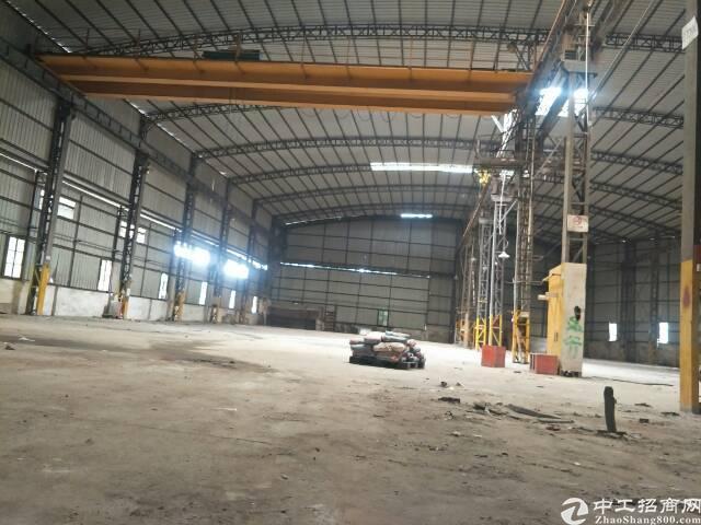 中堂望牛墩洪梅道窖麻涌高埗万江附近带现成航吊两部单一层钢构厂