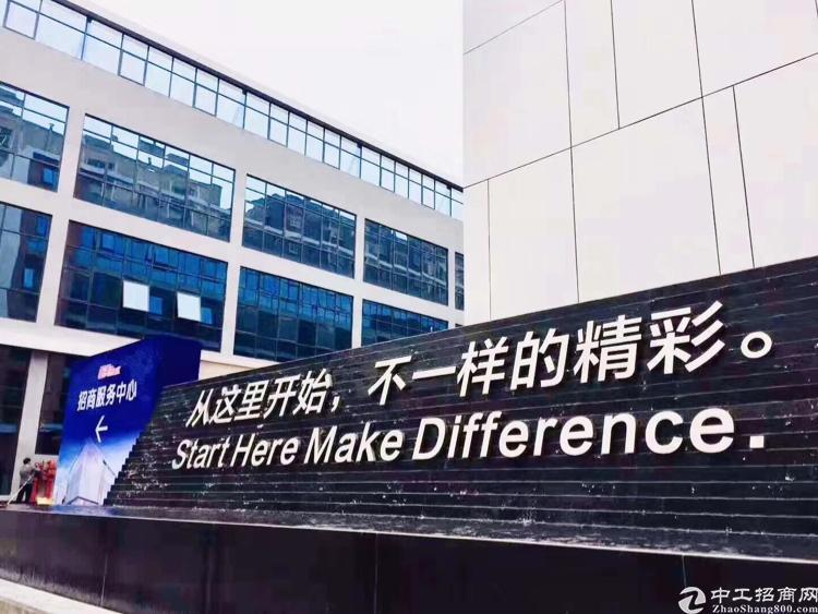 福永塘尾地铁口精装修写字楼100平方起租福永地标建筑