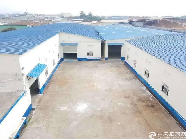 博罗园洲新出独院砖墙到顶单一层厂房