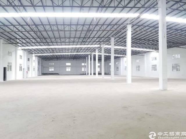 博罗园洲新出独院砖墙到顶单一层厂房-图3