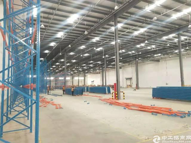 惠州区域唯一上市物流仓冷库总占地30万平5千平起租