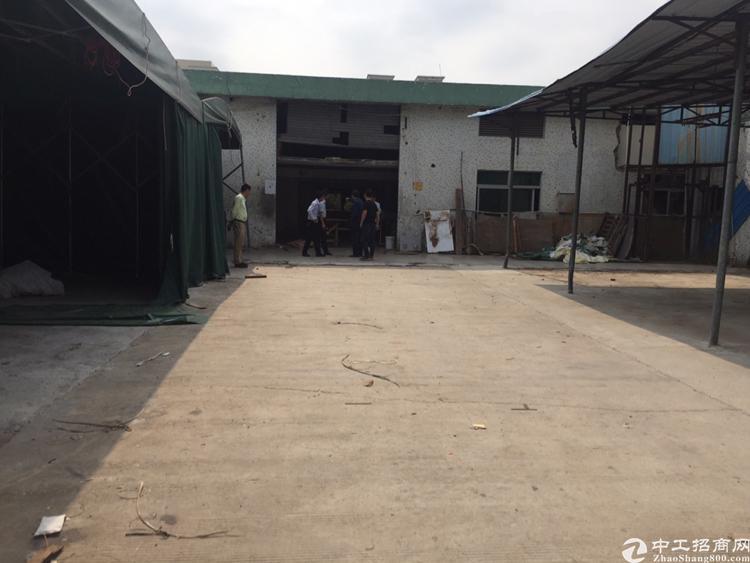 龙岗同乐钢构厂房1600平方米租13元