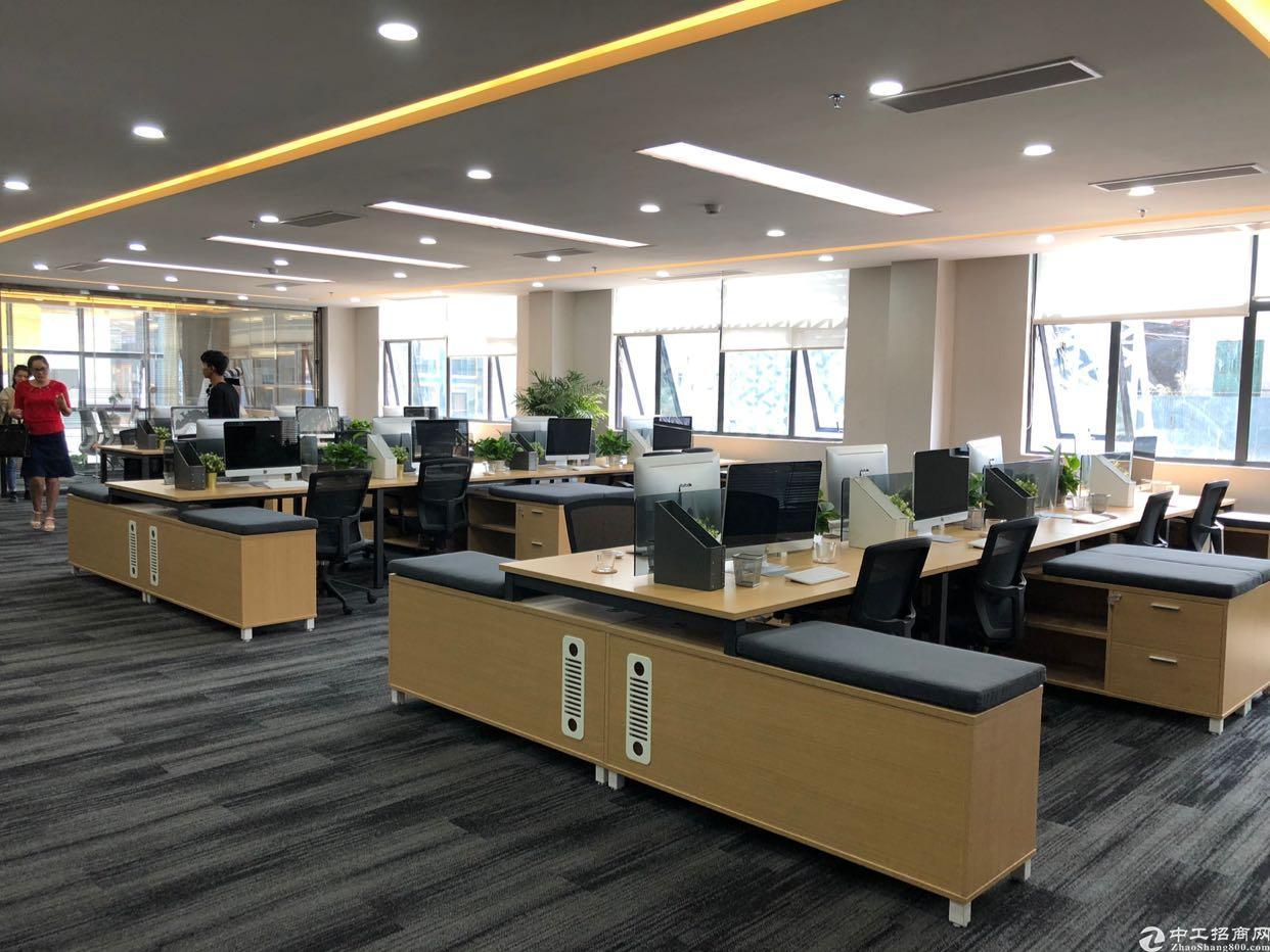南山科技园楼上3000平带办公家私厂房可分租