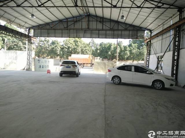 广州白云区唐阁仓库6000平方近路边能进大车