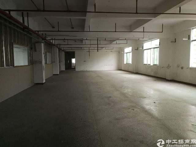 凤岗镇油甘埔新出原房东带办公室、消防喷淋标准厂房4楼1000