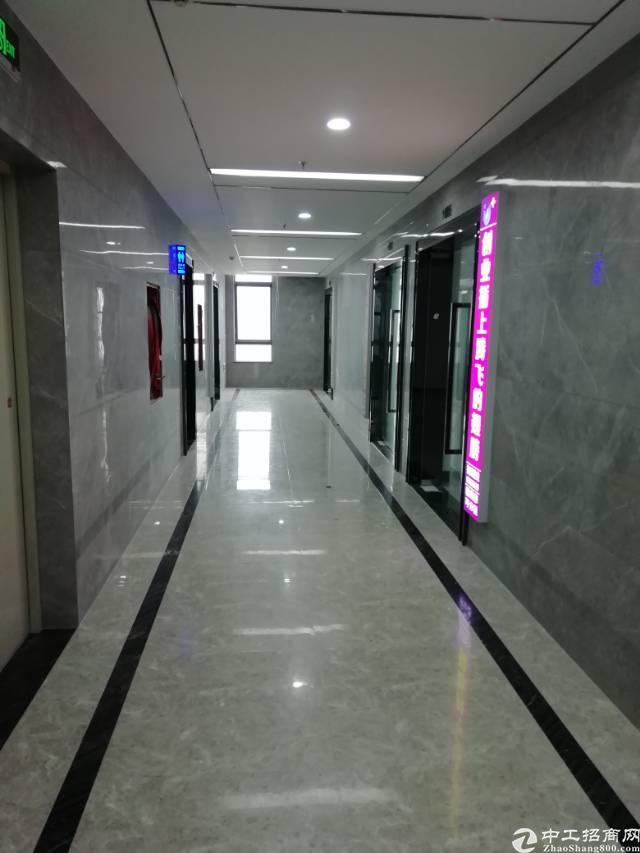 横岗地铁口新出80-800平办公室出租
