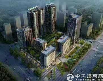 龙岗龙东在建地铁口旁新出甲级写字楼4200平火爆招租
