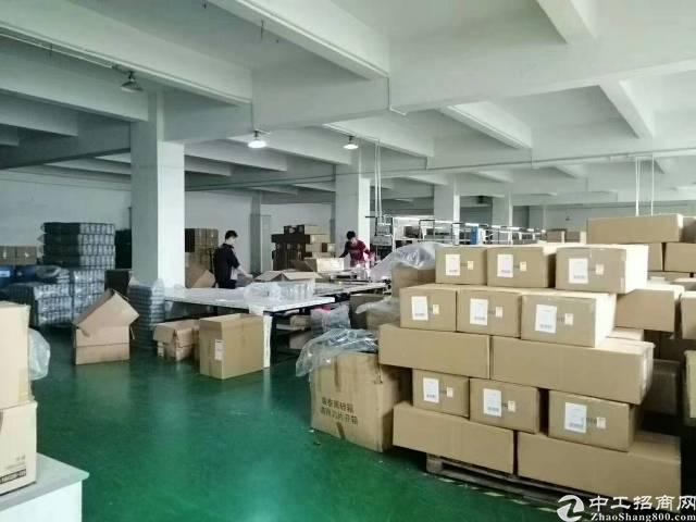 平湖新出原房东厂房2楼1600平方出租,有现成办公室装修-图5