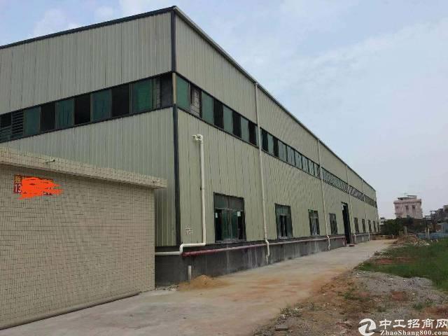 惠州龙溪全新十米钢结构厂房招租