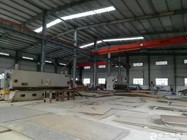 惠阳沙田原房东钢构厂房出租,带现成十吨航车。可直接开工