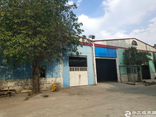 惠阳新圩镇原房东无公滩独院标钢构厂房 厂房面积2000平方