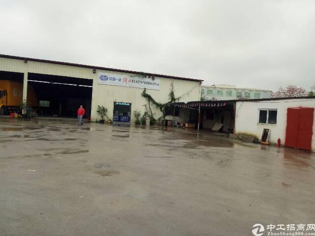 光明南光高速出口独院钢构1700平空地3000平。