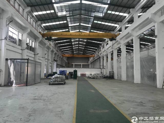 道滘工业区独栋带20吨行车厂房价格15元/平