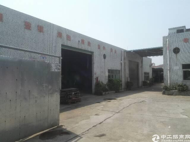 黄江镇临深区域成熟工业区出租单一层钢构700平米现成5吨行车