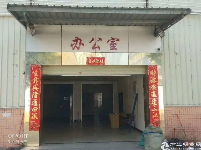 长安镇新出滴水8米高钢构4000平方厂房出租-图2