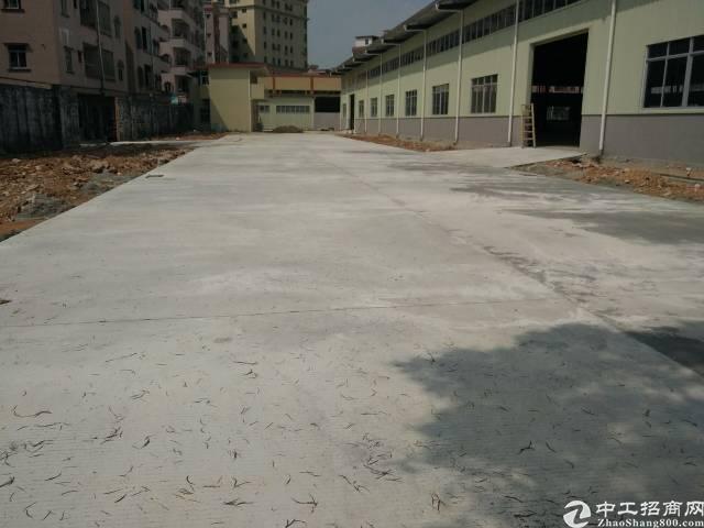 东坑新出2000平方单一层独院厂房空地2000平方