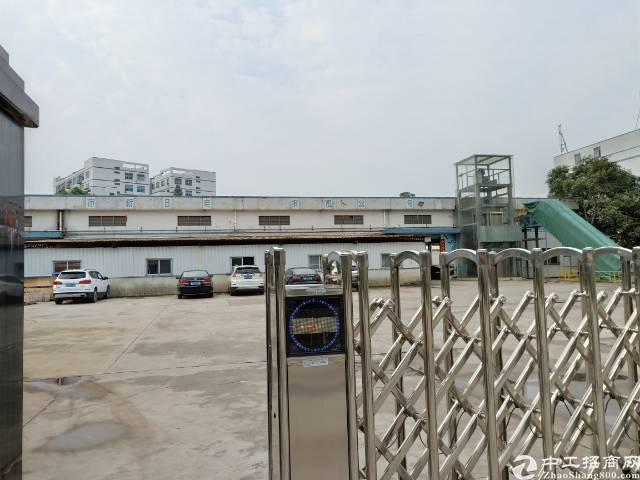 公明南光高速出口7000平方独院物流仓钢构厂房出租
