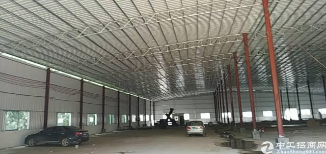 博罗龙华镇新出独门独院单一层厂房2503平方出租