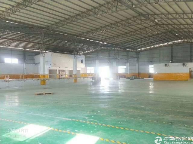 长安镇新出滴水8米高钢构4000平方厂房出租-图6