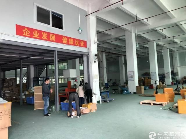 福永桥头宝安大道边一楼1850平方物流仓库大小可分