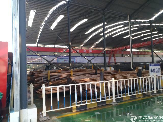 惠州市博罗县新出带现成行车钢构厂房招租,滴水10米