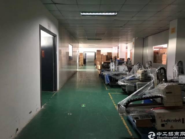 平湖辅城坳工业区新出三楼带装修厂房600平方招租