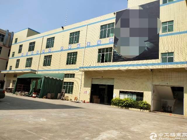 惠阳秋长白石工业区独院家具厂出租5500平带现成喷油房