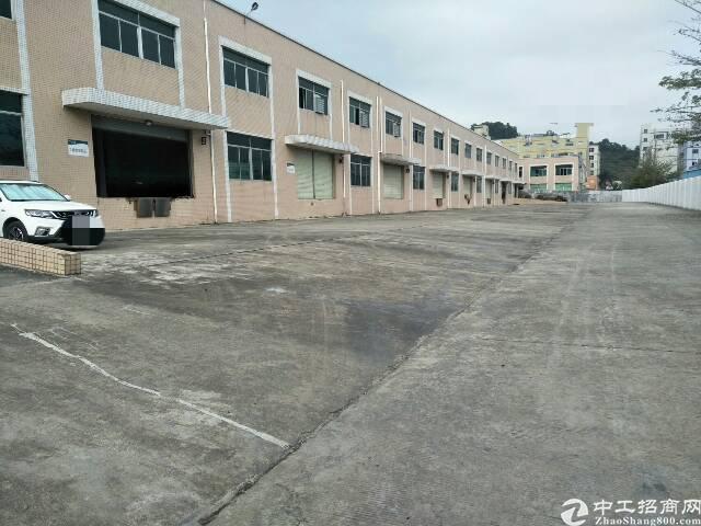 凤岗物流仓库6000平米带卸货平台出租空地超大