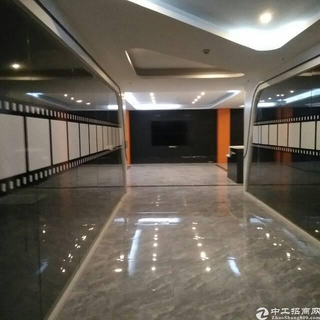 横岗永湖地铁附近新出写字楼精装修230平招租