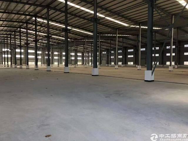 桥头镇红本厂房。10米钢构,低价出租!