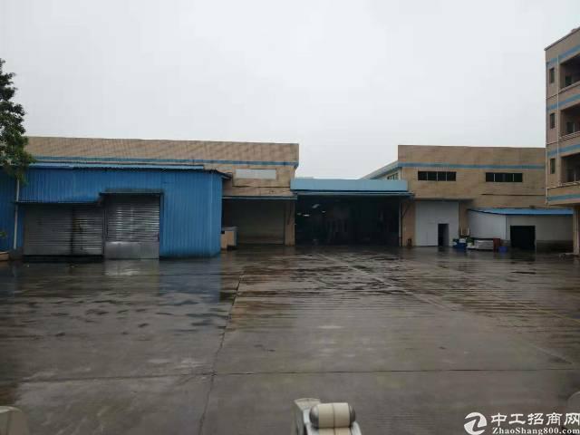 寮步新出原房东独院红本滴水8米钢构+办公楼厂房16000平,