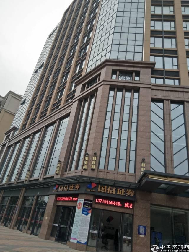 花都甲级写字楼出租80-3000平方,出门就是地铁口,