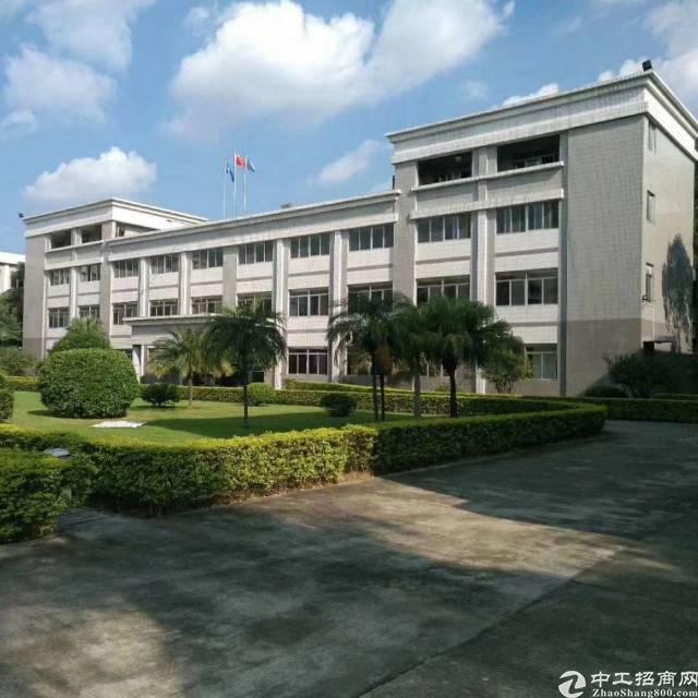 惠城区大型工业园区54000㎡花园式国有厂房