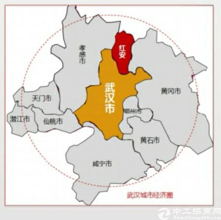 1600元每平米买红安独栋钢结构厂房,享开发区直接政策扶持。