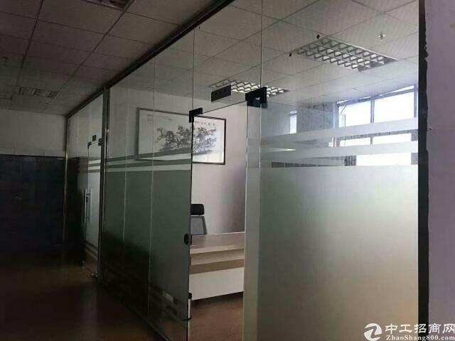 观澜梅观高速出口新出楼上1450平米带精装修厂房出租