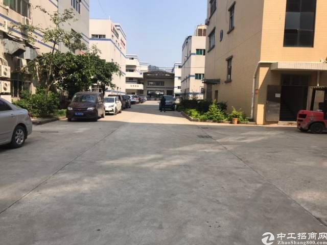 凤岗镇雁田村新出二楼带精装办公室标准二楼1200平环保地坪漆
