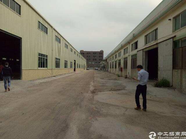 原房东单一层滴水10米钢结构厂房出租