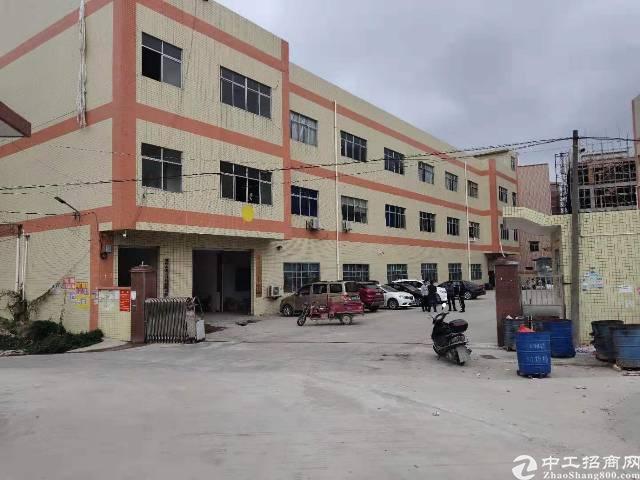 靠近深圳独栋4500平米厂房出租
