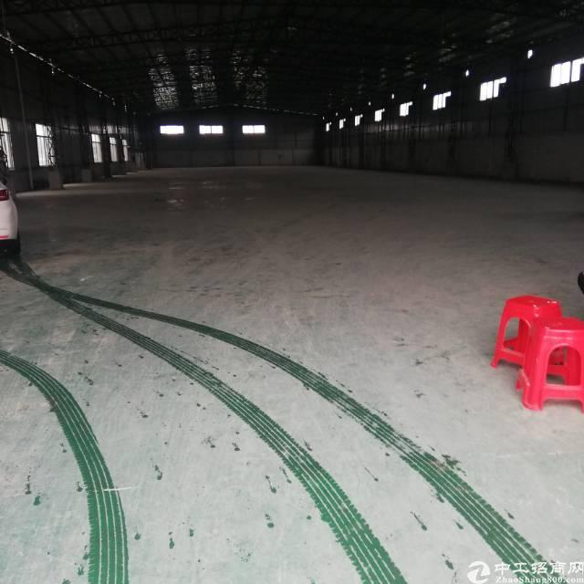 全新厂房工字钢带牛角可装五吨行车招租