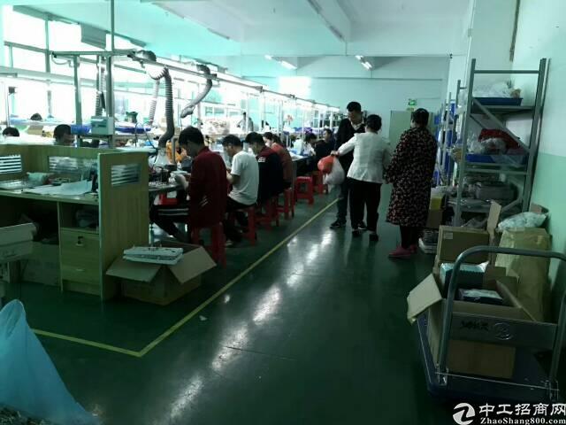 福永水库边湖景厂房600平方,两间办公室一间物料房,