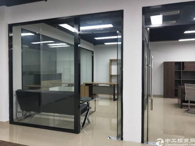 西乡固戍地铁口2+1格局精装写字楼216平出租