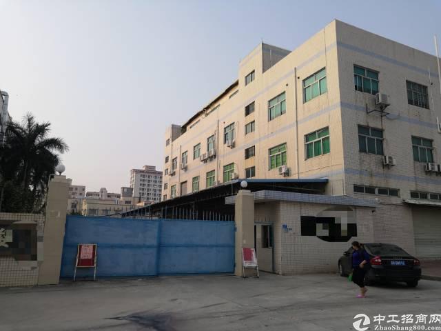 虎门沿江高速出口南栅独院厂房3500平方实际面积原房东