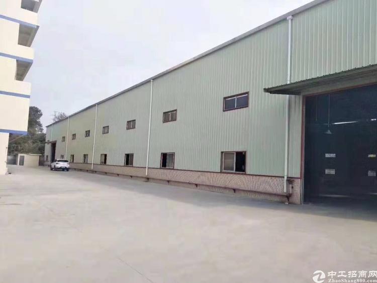 出租番禺钟村工业区大型钢构7000平米,有房产证,可办环评