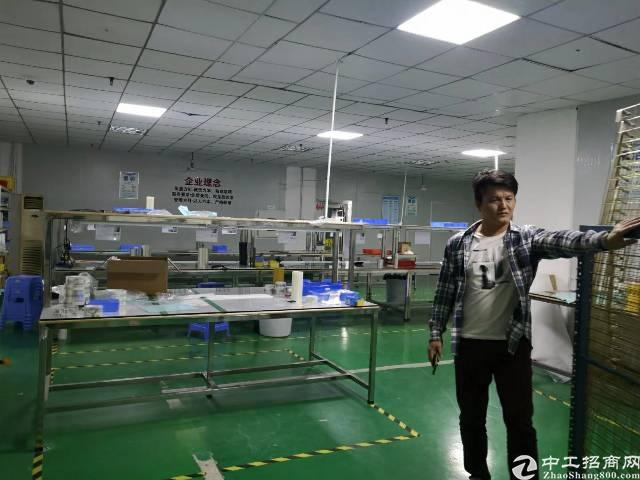 福永沿江高速附近新出1000平带装免转让费厂房